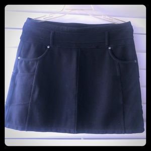 Athena Black Skort Athletic Skirt